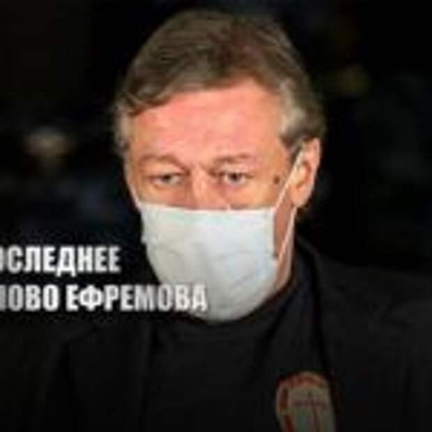 «Не буду отмазываться»: Ефремов выступил с последним словом в суде