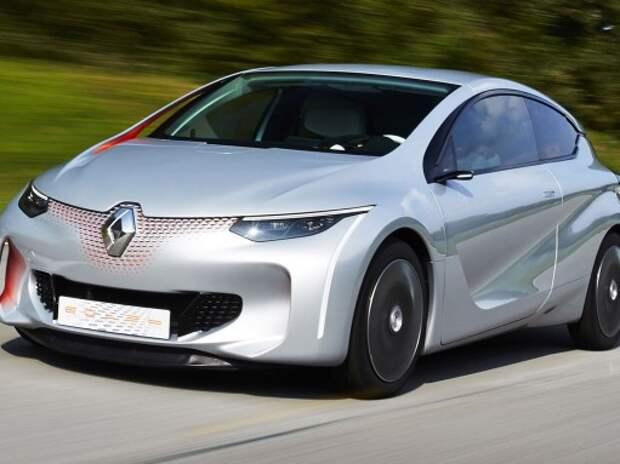 Renault представила хэтчбек с расходом 1,0 л/100 км