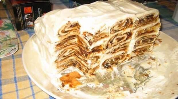 Торт Весёлая карусель. Очень нежный и оригинальный десерт 2