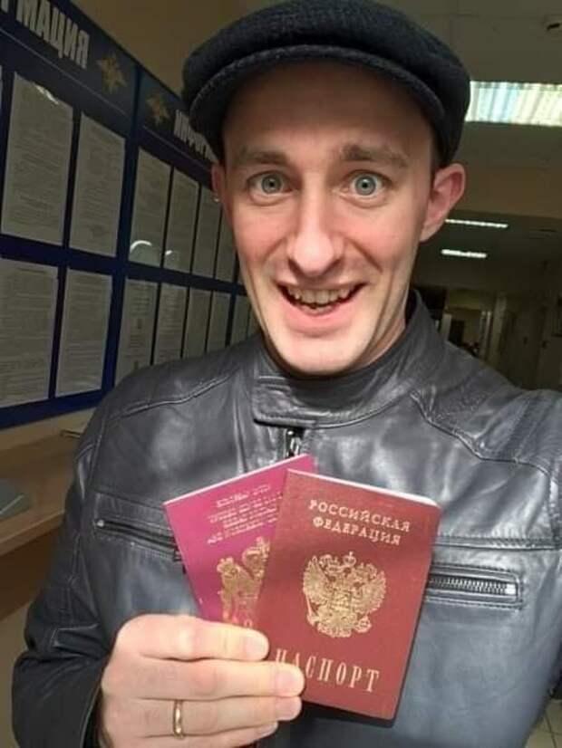 """Британец о России: """"Россия движется вперёд! Мне нравится, что в России я могу быть мужчиной."""