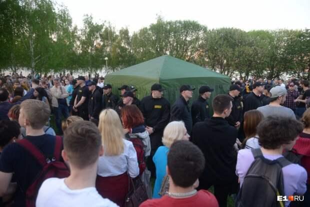 Хроника и Анатомия протеста в Екатеринбурге
