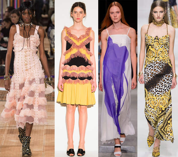 Сарафаны 2018 модные тенденции