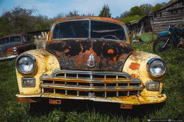 Кладбище советских автомобилей или музей Красинца