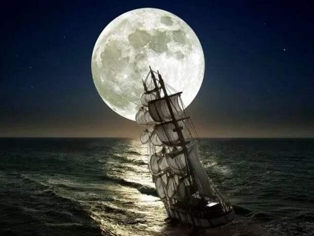 Чем может быть опасна холостая Луна, или Луна без курса...