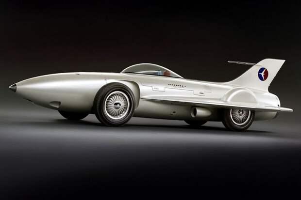 GM Firebird I авто, автодизайн, автомобили, аэродинамика, дизайн, обтекаемость, самолет