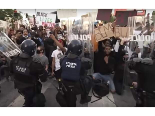 Расовый Майдан в США