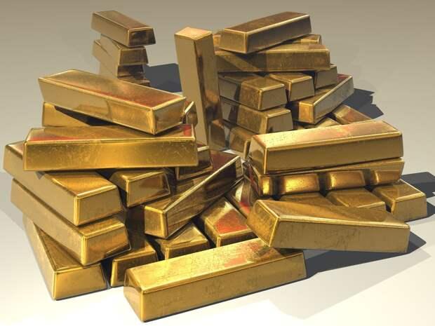 В три раза больше золота экспортировала Россия в 2020 году