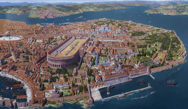 Древний Константинополь (ныне Стамбул)