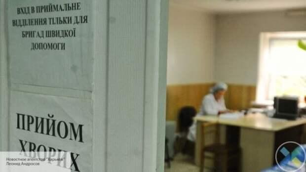 Украинские врачи отказываются принимать больных с симптомами коронавируса в Киеве