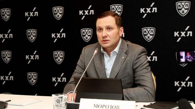Морозов: «Авангард» долго шел к победе в Кубке Гагарина»
