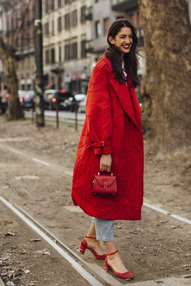 Как красный цвет изменит ваше модное настроение?