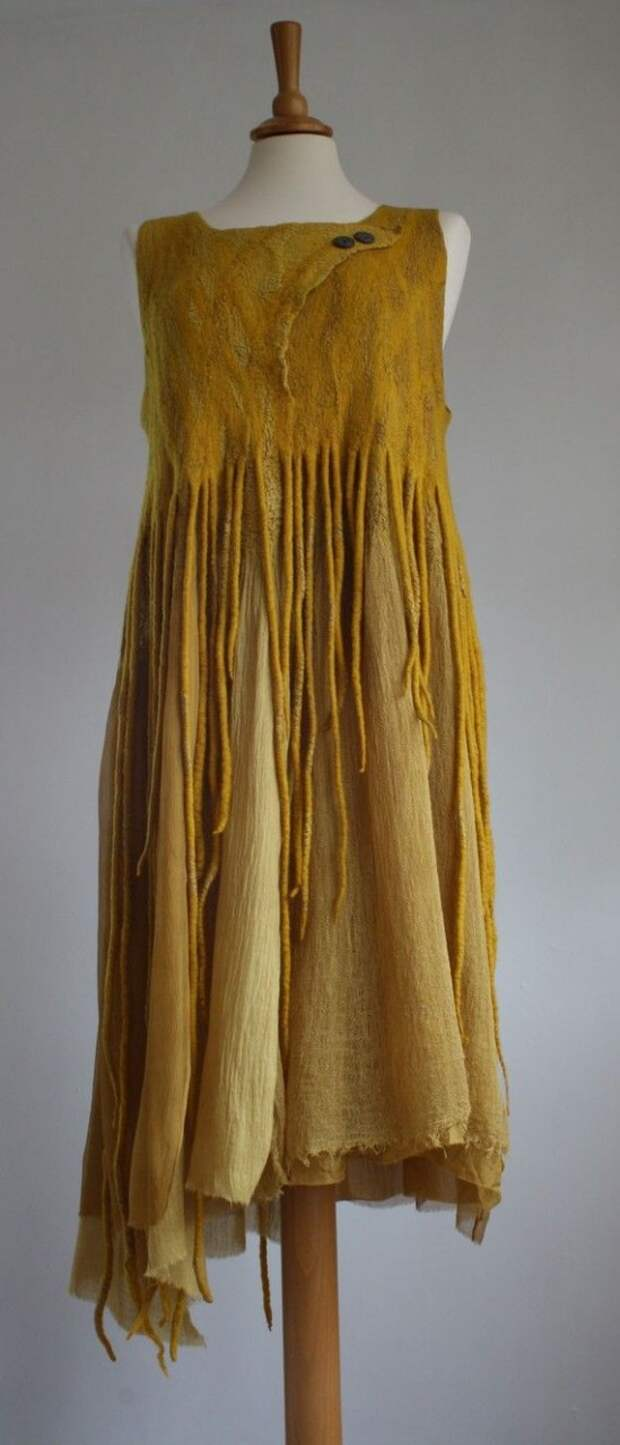 hand dyed - wool, silk, cotton