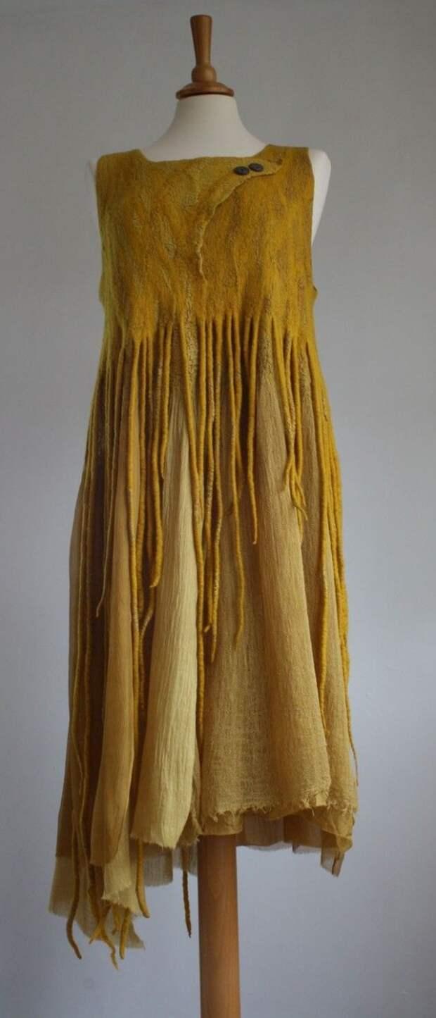 hand dyed - wool, silk, cotton