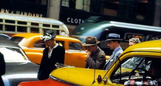 Изумительные винтажные снимки Нью-Йорка 1950-х