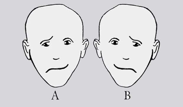 Личностный тест: какое лицо кажется вам более счастливым?