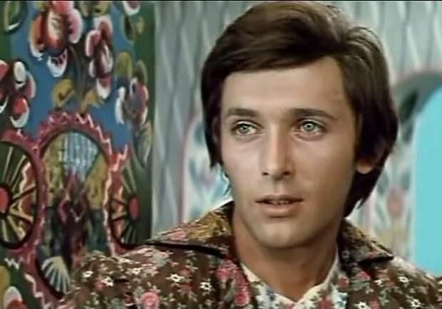 Сергей Мартынов. Кадр из фильма «Царевич Проша», 1974 год.