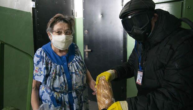 Волонтеры за два месяца помогли более 24 тыс жителей Подмосковья