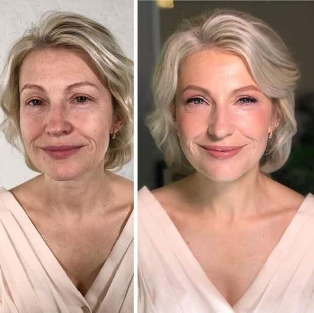 20 прекрасных примеров омолаживающего макияжа