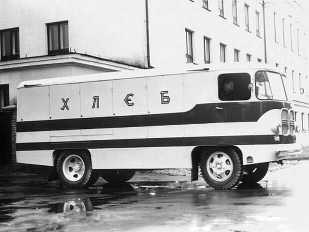 ТА-9 СССР, авто, автомобили, автофургон, грузовик, ретро техника, фургон, хлеб