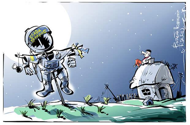 Украинский космос: дурень думкой богатеет