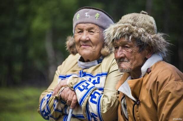 Пожилые представители народности. Фото взято из открытых источников