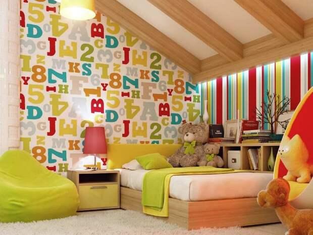 Обои для детской комнаты: виды изделий и особенности выбора (105 фото)