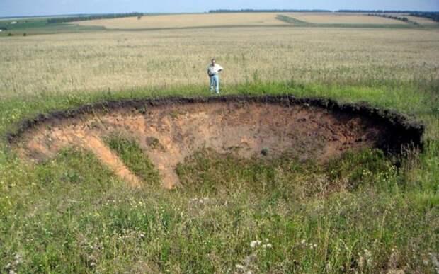 Аномальные места на территории России