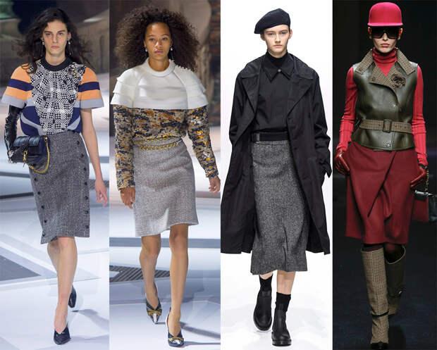 Теплые юбки на осень и зиму 2018-2019 – лучшие модели