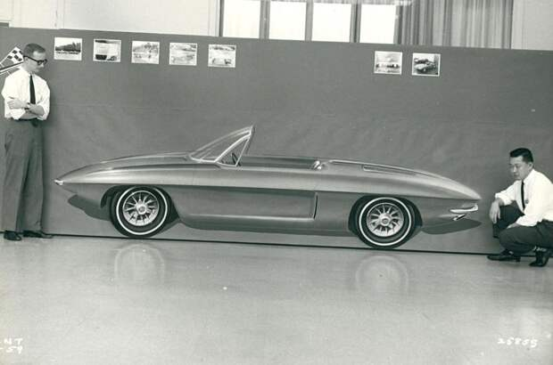 История легенды: Corvette