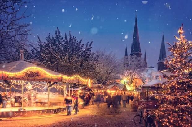 Послание в Удмуртию из Швеции, старт продаж нового iPhone в России и отмена рождественских ярмарок в Европе: что произошло минувшей ночью