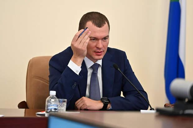 Дегтярёв уволил главу Минздрава Хабаровского края