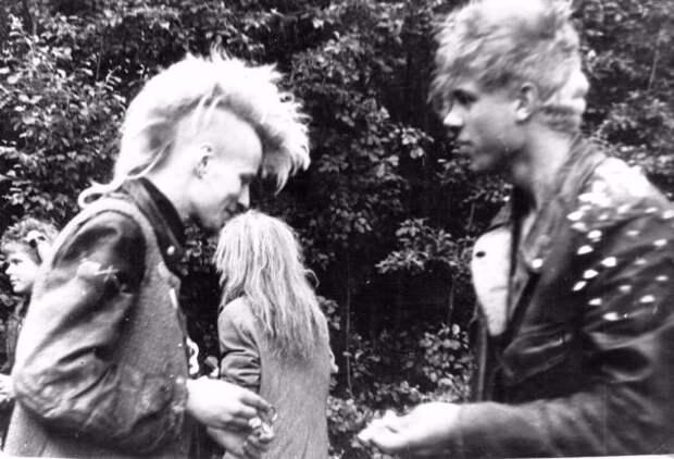 70 искренних фотографий эстонской панк-культуры 1980-х годов 46
