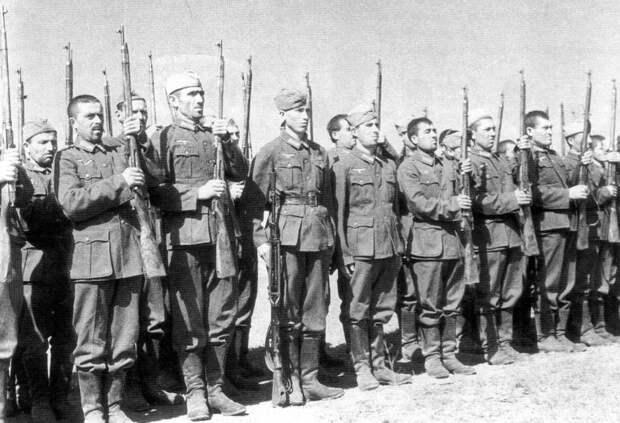 Предатели со всего света. Иностранцы в германском вермахте и войсках СС