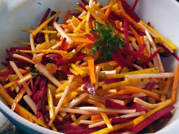 Овощной салат от Николы Радишича