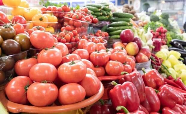 продажа овощей не рынке