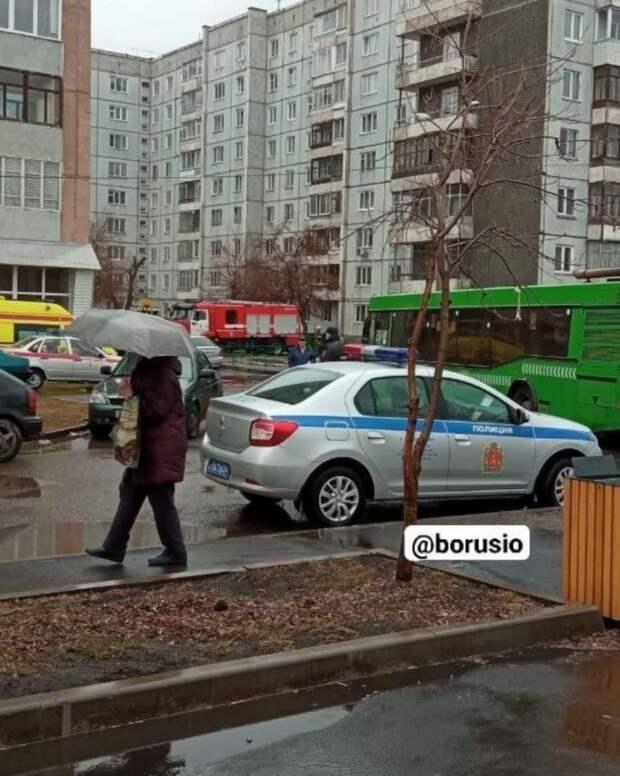 В Красноярске неизвестный сообщил о минировании жилого дома