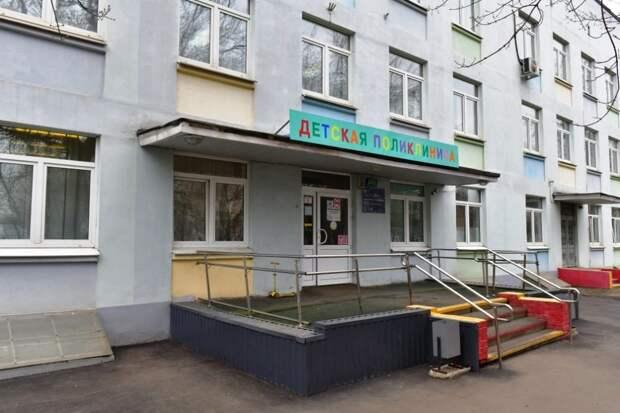 Здание 1-го филиала детской поликлиники №61 на улице Полбина/Денис Афанасьев, «Юго-Восточный курьер»