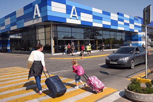 Аэропорт Симферополя пользуется большим спросом