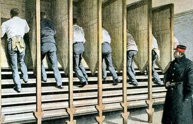 Как в тюрьме 19-го века появилась Лестница Кьюбитта, прародительница современных тренажеров