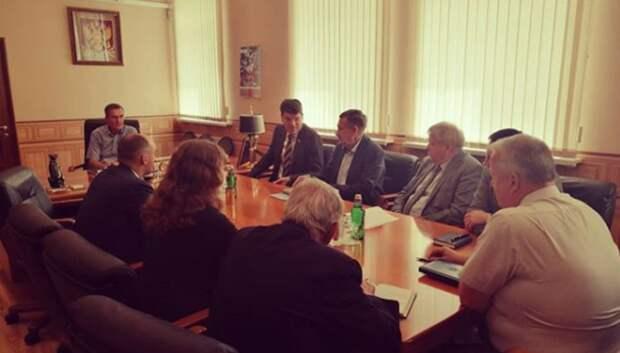 Депутат Госдумы обсудил перспективы развития с руководством ракетного предприятия Королева