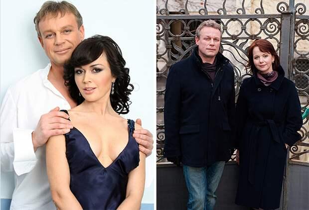Сергей Жигунов, Вера Новикова и Анастасия Заворотнюк