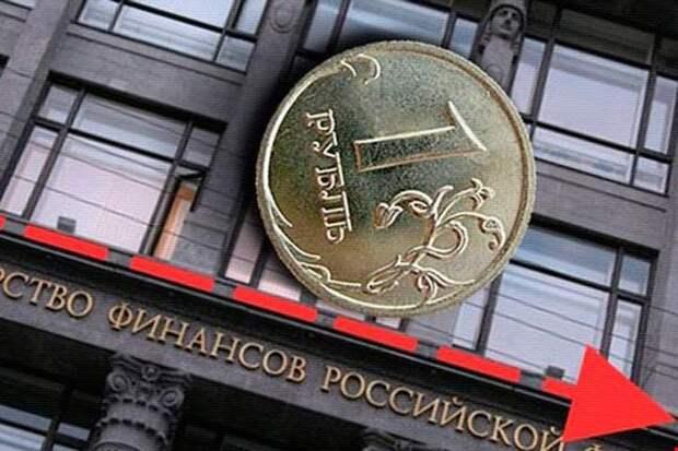 США заявили о санкциях, рубль начал падение
