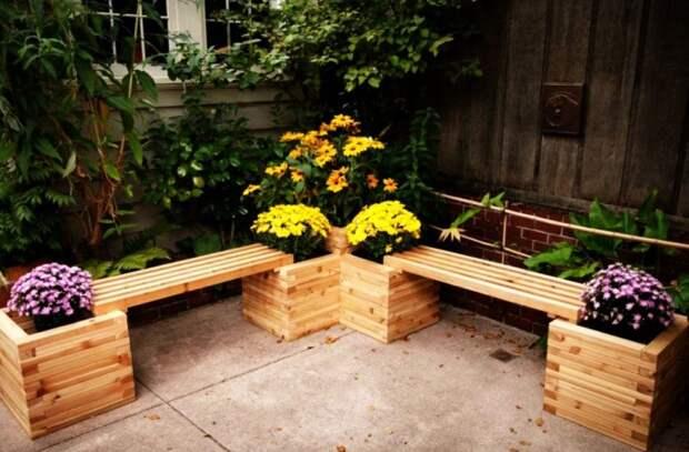 7 нестандартных вариантов, как своими руками сделать скамейки для дачи или дома