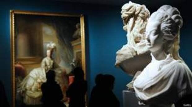Выставка в Париже, посвященная Марии Антуанетте