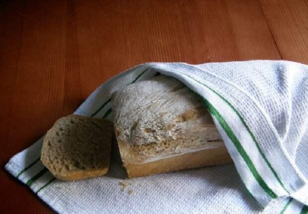 Правильное хранение домашнего хлеба. / Фото: sovkusom.ru