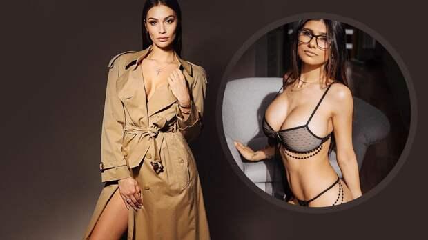 «Роскошная женщина». Жена Овечкина показала себя в плаще на голое тело — оценила даже порноактриса