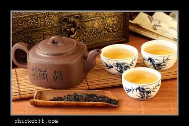 Как не надо пить чай