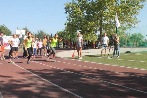 В Симферополе состоялся спортивный фестиваль «Олимпиада учителей 2018»