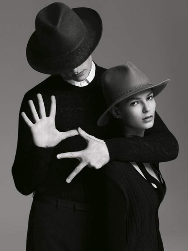 Мужская шляпа идеально впишется в актуальные сегодня тренды — моду 70-х и ковбойских шик