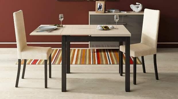 Обеденный стол для кухни: конструкции, виды, материалы (68 фото)